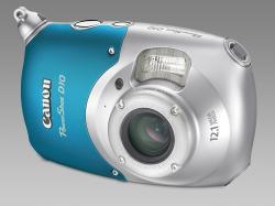 PowerShot D10 - první odolný kompakt Canon