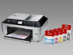 Pixma MX860: Nejvyšší model inkoustové multifunkce sWi-Fi advěma oddělenými černými zásobníky
