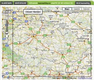 I úspěšný projekt BezRealitky.cz sází na mapy Googlu
