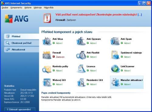 AVG Internet Security 8.0