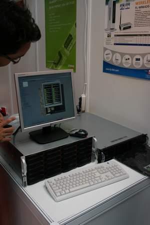 Server Abacus sprocesorem Barcelona.