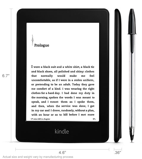 Amazon oznámil nový Kindle Paperwhite