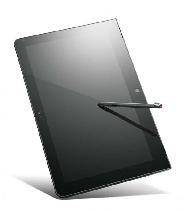 Lenovo ThinkPad Helix jako tablet