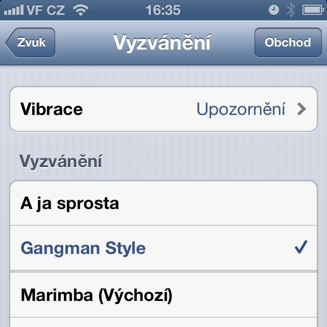 připojte iphone k synchronizaci