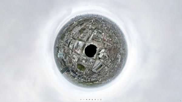 Panoramatický Londýn