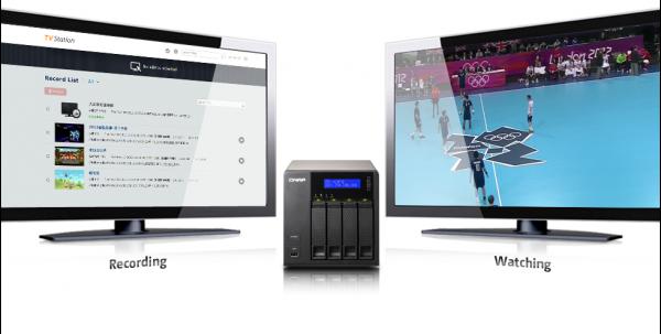 Nové multimediální funkce NAS serverů. Můžete sledovat i ukládat TV pořady.