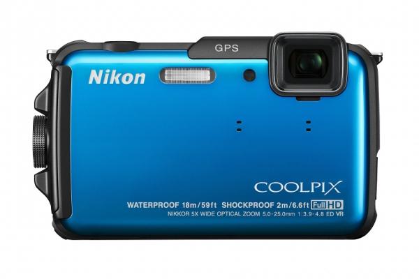 Odolný fotoaprát Nikon Coopix AW110