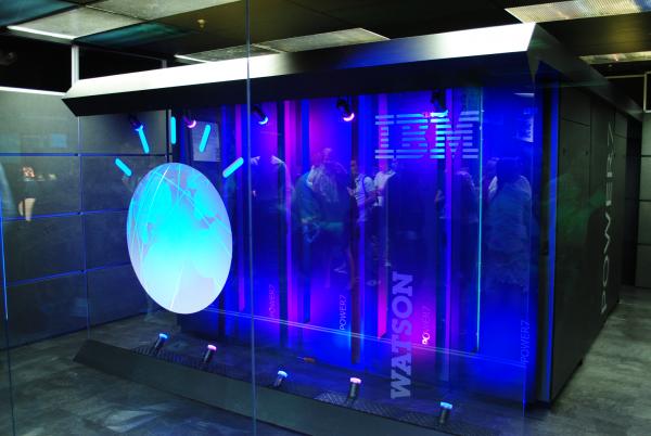 IBM Watson, zdroj: Wikimedia Commons