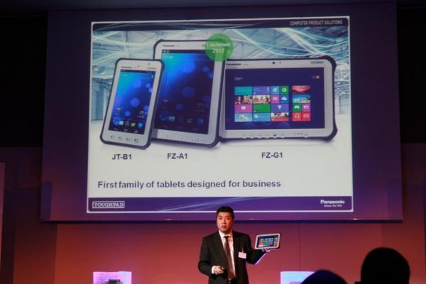 Nová řada tabletů Toughpad