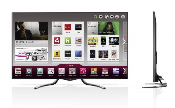 LG TVGA7900 s Google TV
