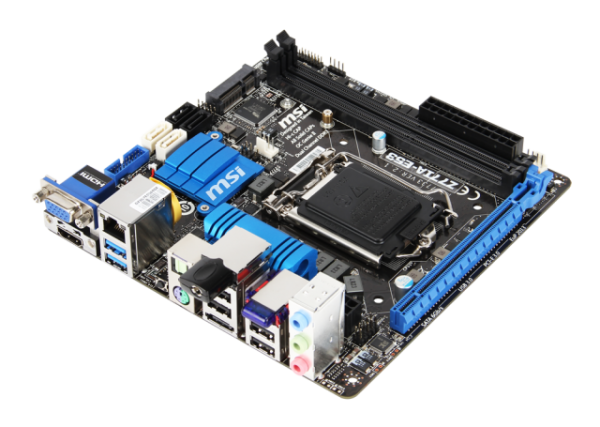 ITX deska MSI Z77IA-E53