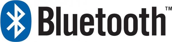 Světově proslulé logo technologie bezdrátového přenosu Bluetooth.