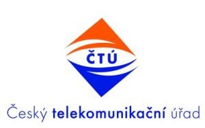 Logo Českého telekomunikačního úřadu.