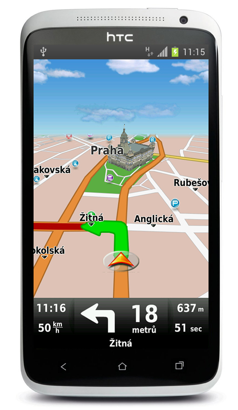 Navigace pro Android