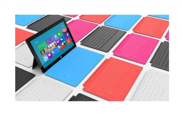 Vybrat si můžete kryt s klávesnicí (Type cover), nebo kryt s dotykovou vrstvou (Touch cover)
