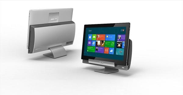 Transformer AiO je zařízení, které můžete používat zároveň jako stolní počítač i tablet.