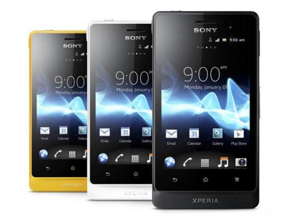 Sony Xperia Go disponuje nejvyšší úrovní ochrany proti vodě a prachu IP67.