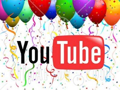 YouTube slaví již své sedmé narozeniny, gratulujeme!