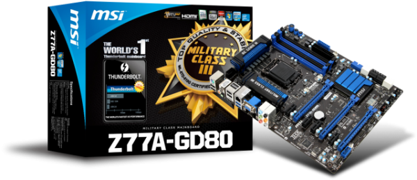 MSI Z77A-GD80