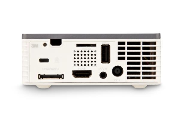 Konektory projektoru 3M MP410
