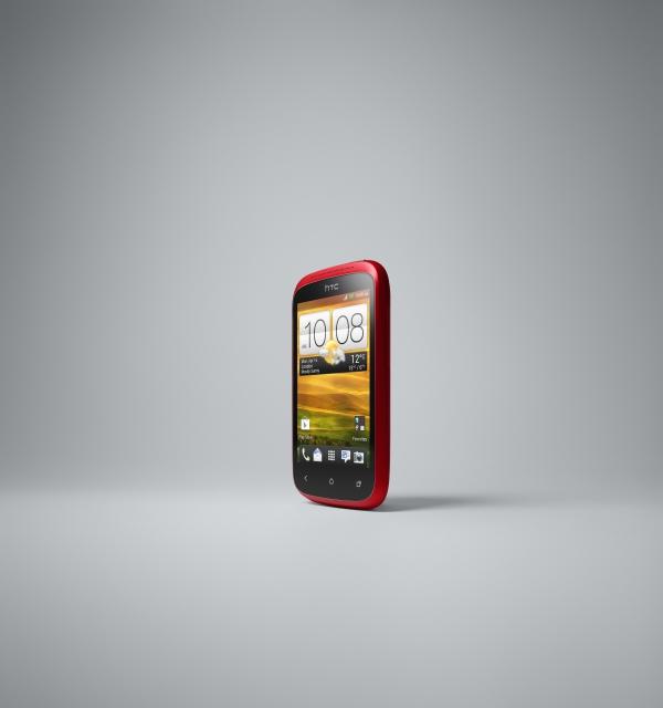 HTC Desire C bude dostupný v bílé, černé a červené variantě.
