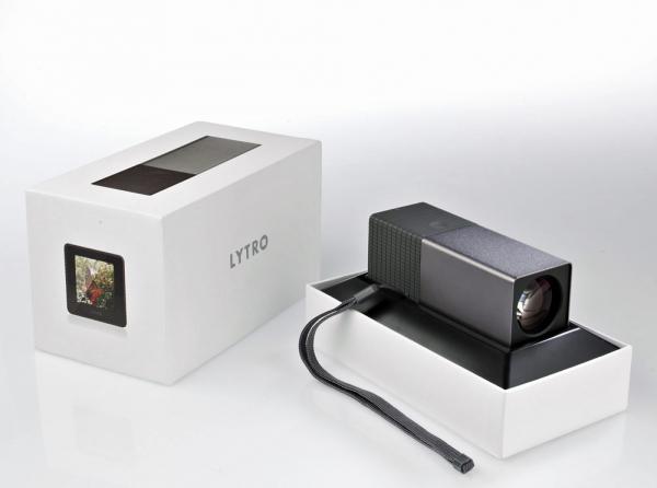 Light field fotoaparát Lytro