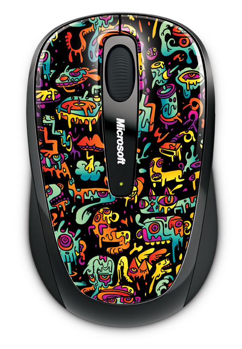 Microsoft Wireless Mobile Mouse 3500 Artist Series