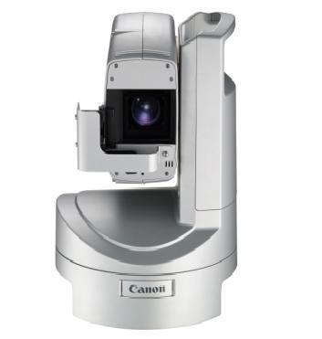 Síťová kamera Canon XU-80 umožňuje pořizovat záznam ve Full HD.
