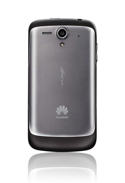 Zadní strana smartphonu Huawei Ascend G300.