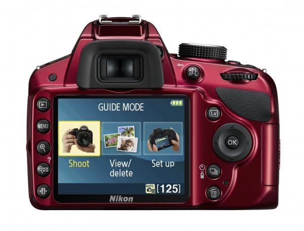 Nikon D3200 - režim Průvodce