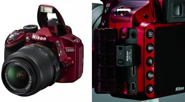 Nikon D3200 a WiFi adaptér WU-1a