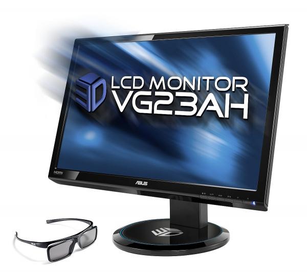 Asus VG23AHAsus VG23AH - 3D monitor s pasivními brýlemi