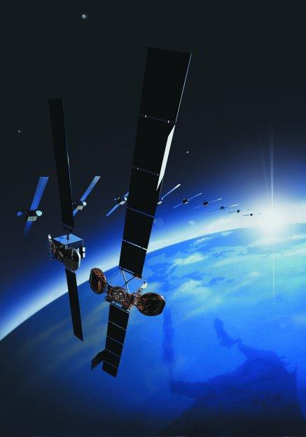 Satelitní vysílání zajišťují mimo jiné družice Astra.
