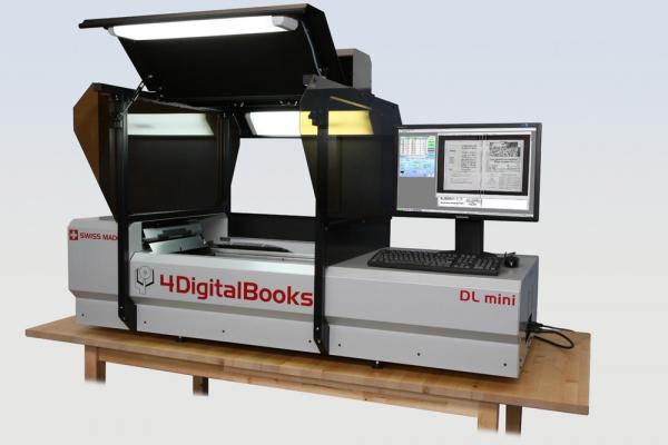 Unikátní knižní skener zasahuje