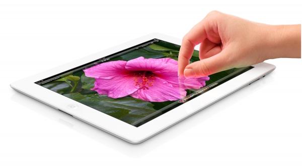Nový iPad s retina displejem.