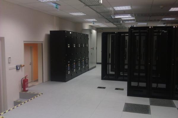 Datové centrum Tower Českých radiokomunikací se nechází v Žižkovské věži.