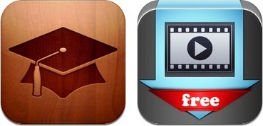 iPad: Video Downloader Pro Free; iTunes U