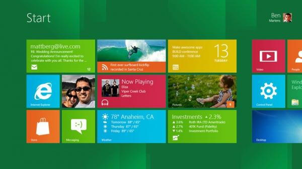 Windows 8 - stáhněte si osmičky od Microsoftu