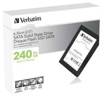 SATA-III SSD disky Verbatim dosahují kapacit až 240 GB.