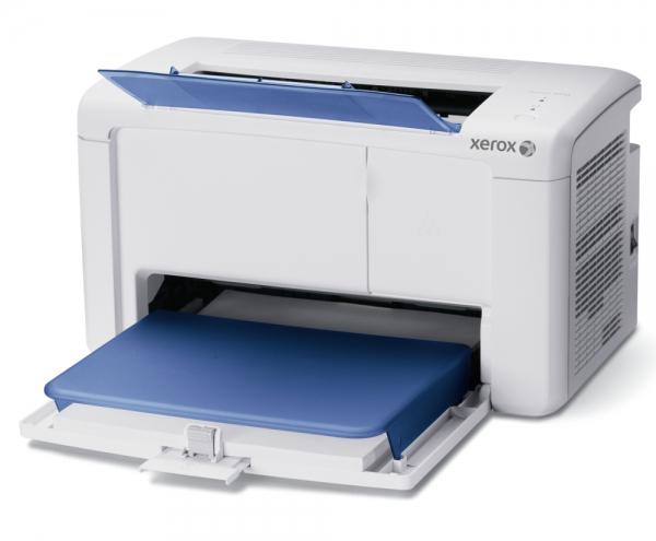 Tiskárna Xerox Phaser 3010 má malé rozměry a nízkou cenu (cca 1600 Kč)