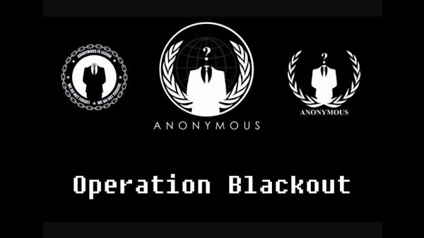 Anonymous blackout