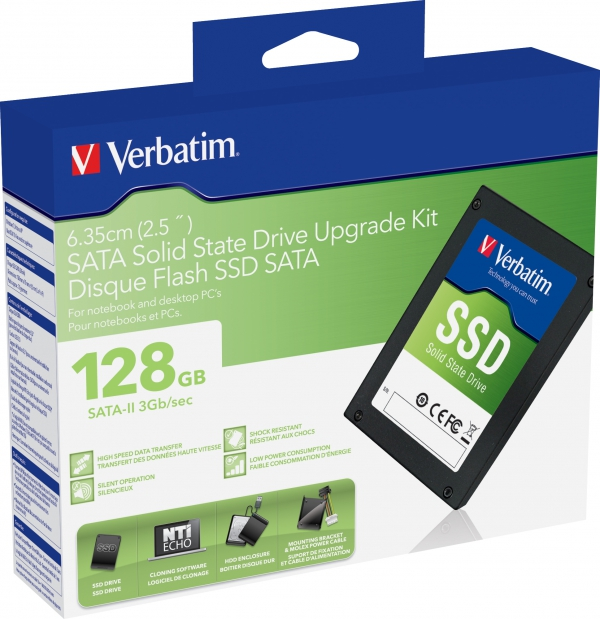 Verbatim SATA-II Solid State Drive Upgrade Kit