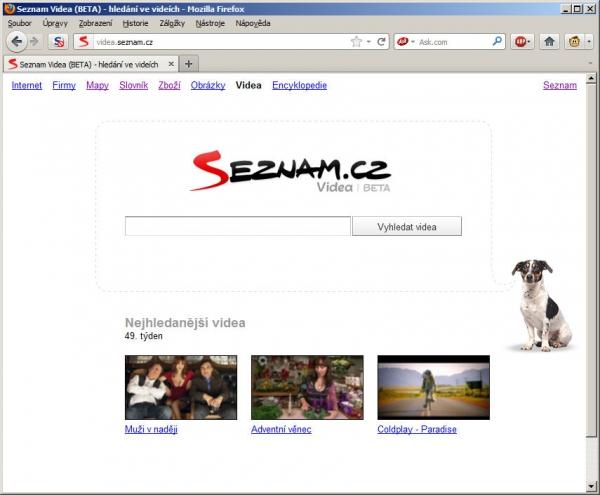 Novinka od Seznamu: Hledání ve videích