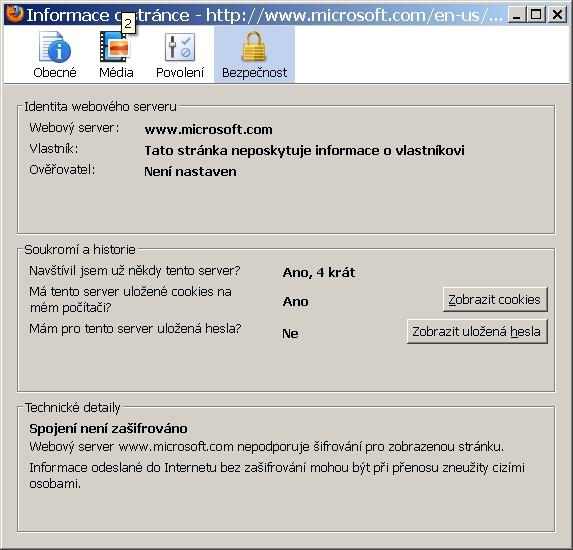 Podle certifikátů lze rozpoznat pravost webové stránky.
