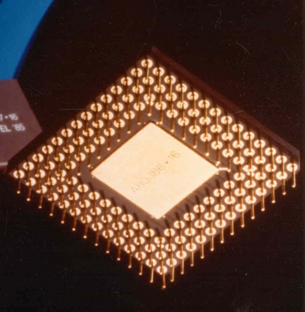 Intel386 DX 33 MHz, 25 MHz, 20 MHz, 16 MHz / 1,5 mikronu, 1 mikron