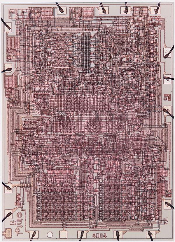 Procesor Intel 4004 z roku 1971