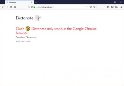 Pouze pro prohlížeč Google Chrome.