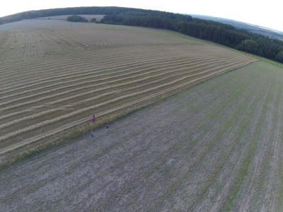 Fotografie pořízená dronem