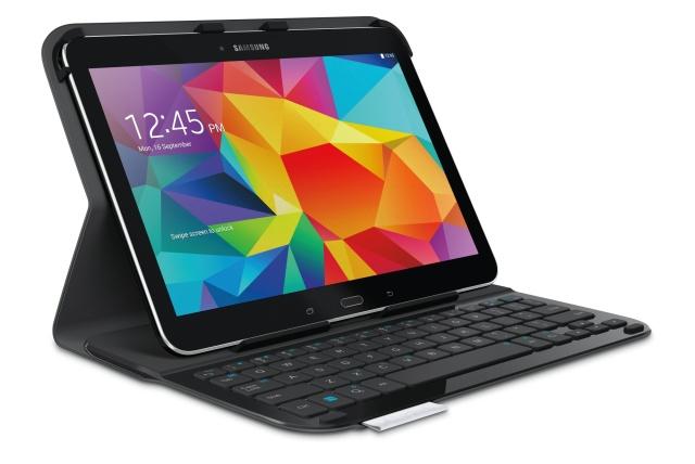 Lehké pouzdro s klávesnicí pro tablet Samsung Galaxy Tab 4 10.1 ... 2a67ed97702