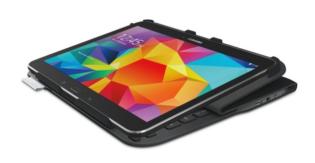ultrathinkbfolio-tab4-carbonblk-nahled. Systém SecureLock přidržuje Samsung  Galaxy ... 1810355eb94